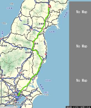 Routetokyotomizusawa